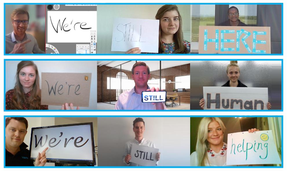 We're still here, we're still human!